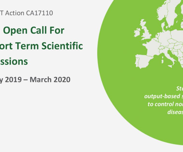 An Open Call For Short Term Scientific Missions (STSM) - EXTENDED deadline for applications 7