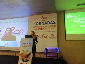 Lina Costa presents SOUND Control at the 12th Jornadas Hospital Veterinario Muralha de Evora 2