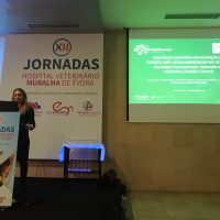 Lina Costa presents SOUND Control at the 12th Jornadas Hospital Veterinario Muralha de Evora 3