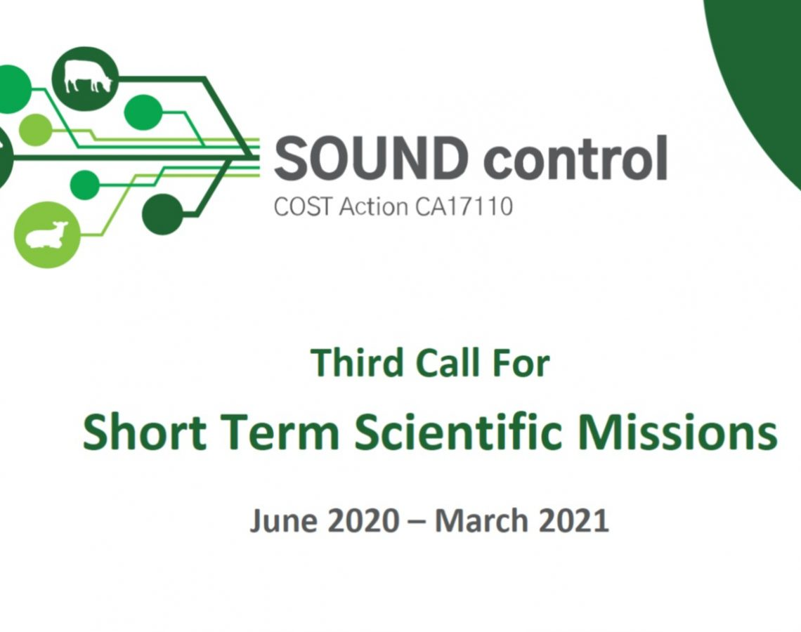 An Open Call For Short Term Scientific Missions (STSMs) 1