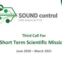 An Open Call For Short Term Scientific Missions (STSMs) 3