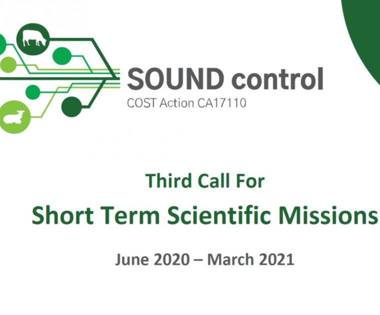 An Open Call For Short Term Scientific Missions (STSMs) 6